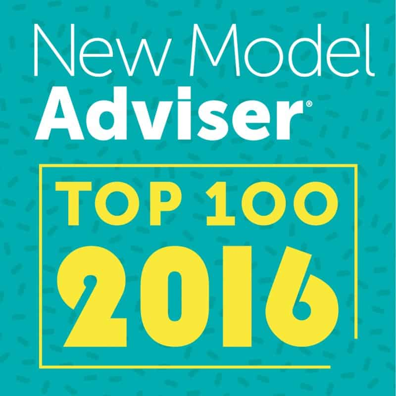 We were one of New Model Adviser's Top 100 Firms in 2016