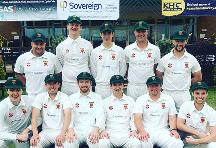 We are the main sponsors of Keynsham Cricket Club
