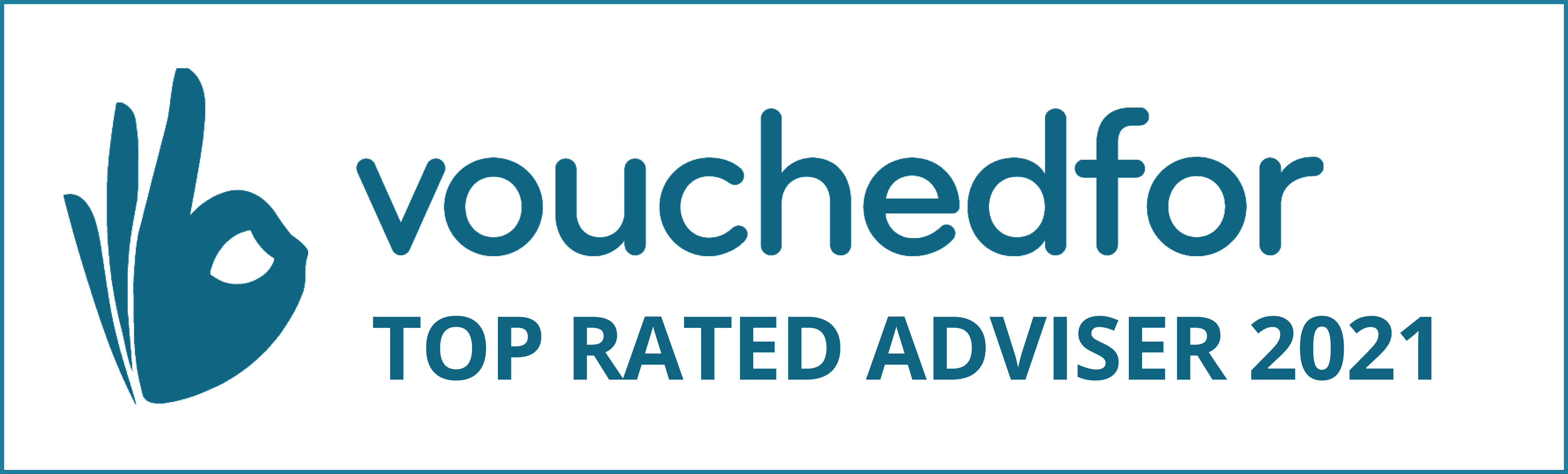 We're honoured to have had both of our Financial Planners included in the 2021 VouchedFor Top Rated guide
